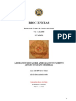 Liberacion Miofascial Aplicada en Un Paciente Adulto Con Dano Cerebralosfdsfisdsd