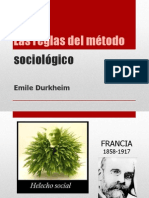 Reglas del método sociológico - Durkheim.pptx