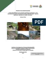 Diseño Metodologico Municipio - Antioquia
