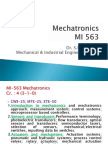 1 Introduction to Mechatronics