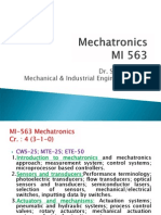 1 Introduction to Mechatronics