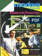 Commodore Horizons Issue 21 1985 Sep