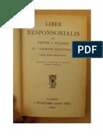 Liber Responsorialis