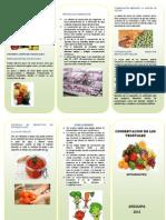 Conservacion de Alimentos. Trifoliado