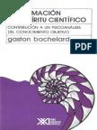 Bachelard Gaston La Formacion Del Espiritu Cientifico
