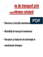 Transport Membranar MG 2013-2014 Prezentare Pp