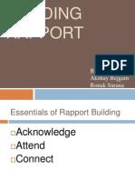 Building Rapport