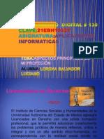 Presentasión de Mi Profesión LORENA SALVADOR