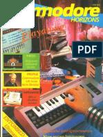 Commodore Horizons Issue 19 1985 Jul