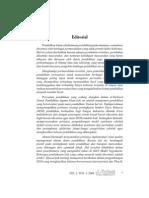 Editorial eL- Tarbawi Vol. 1, No. 2, 2008