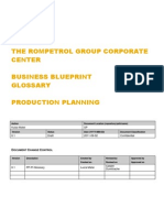 SAP Glossary