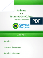 Arduino e a Internet Das Coisas