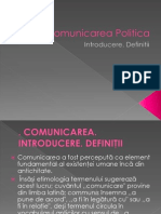 Comunicarea Politica.introducere. Definitii -Daniela Iosif- Jr3