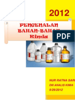 Laporan Praktikum Pengenalan Bahan-bahan Kimia (Nur Ratna Sari 25121119f Dii-Ankim)