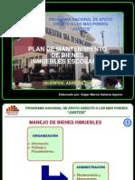 Plan de Mantenimiento de Bienes Inmuebles Escolares 21070