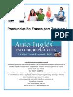 6 Auto Ingles Pronunciacion Frases Para Training I