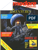 Commodore Horizons Issue 24 1985 Dec