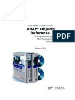 ABAP Objects Reference