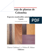 Libro Rojo de Plantas de Colombia Especies Maderables Amenazadas