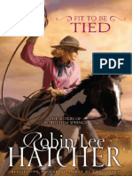 Fit to be Tied by Robin Hatcher, Excerpt
