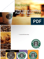 Starbucks Strategic Analysis & Recmmendations