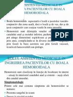 Rolul Asistentei Medicale in Ingrijirea Pacientilor Cu Boala