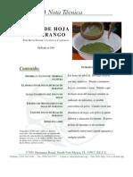 Moringa Leaf Powder Spanish