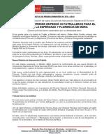 MINISTRO DEL INTERIOR ENTREGÓ 20 PATRULLEROS PARA EL PORVENIR, LA ESPERANZA Y FLORENCIA DE MORA