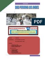 Geologia Trabajo Final Huaytapallana