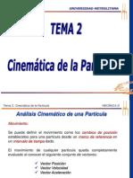 Tema No. 2-Cinematica de La Particula