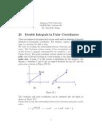 Cal164 Double Integrals in Polar Coordinates