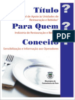 Manual Restauracao