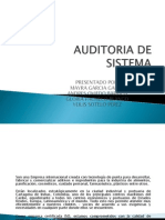 Auditoria de Sistema