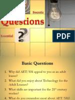 essential vs socratic questions
