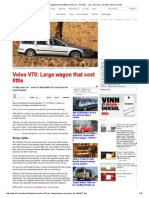 Volvo V70_ Large Wagon That Cost Little _ Broom