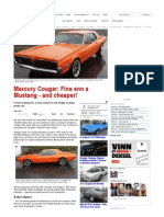 Mercury Cougar_ Finer Than a Mustang - And Cheaper! _ Broom