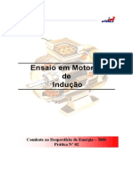 Ensaios Vazio e Rotor Bloq_ Motor_POLI