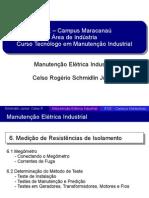 06 - Medição de Resistências de Isolamento - Slides