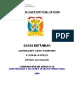 Bases ADS 025-2010 Final - Fabricacion de Techo Estructural