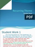 Recurring Theme - Student Work