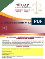 SEMANA 1 - Comunicación I Derecho