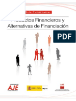 Productos Financieros y Alternativas de Financ.