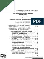 DECLARACIÓN DEL COMITE DE PRINCIPIOS DE CONTABILIDADAD -PCGA - Declaracion No. 1 - 1976