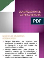Clasificación de La Psicoterapia PDF