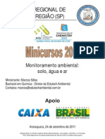 Monitoramento Ambiental 2011 Site