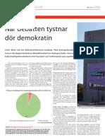 När debatten tystnar dör demokratin d47bf211b74