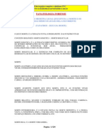 Tanatologia Forense- Básico