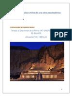 Realizar Un Análisis Crítico de Una Obra Arquitectónica de Egipto y Otro de Mesopotamia (1)