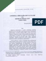 Amerika Birleşik Devletleri Ve Ermeni Meselesi - Recep Karacakaya
