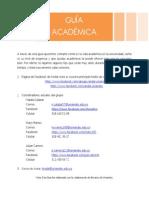 Guía Académica